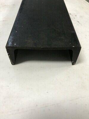 QTY:1 1//2/'/' x 3//4/'/' x 24/'/' Channel Iron Mild Steel