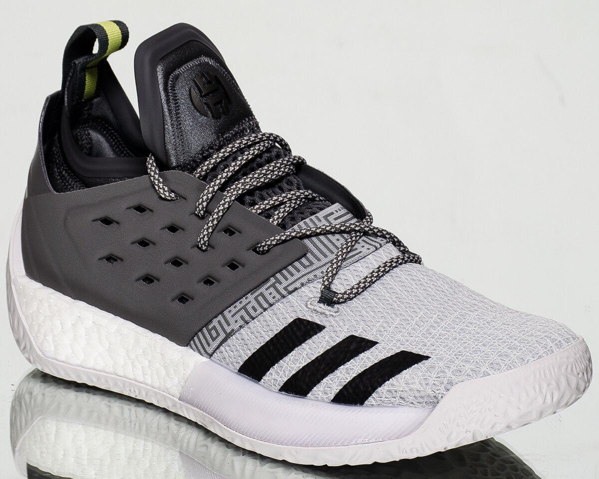 Adidas Harden Vol.2 Concrete hombres nuevos zapatos de baloncesto gris Negro blancoo AH2122