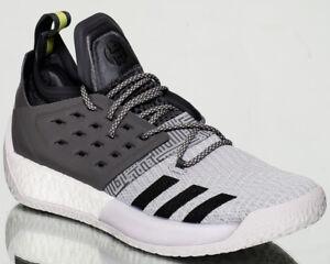 b22bd08ca91 adidas Harden Vol.2 Concrete men basketball shoes NEW grey black ...
