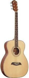 Right OF2B-A Oscar Schmidt 6 String OF2 Folk Acoustic Guitar Black