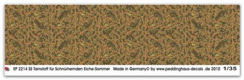 Peddinghaus 2214 1//35 SS Tarnstoff Schnürhemden Eiche Sommer