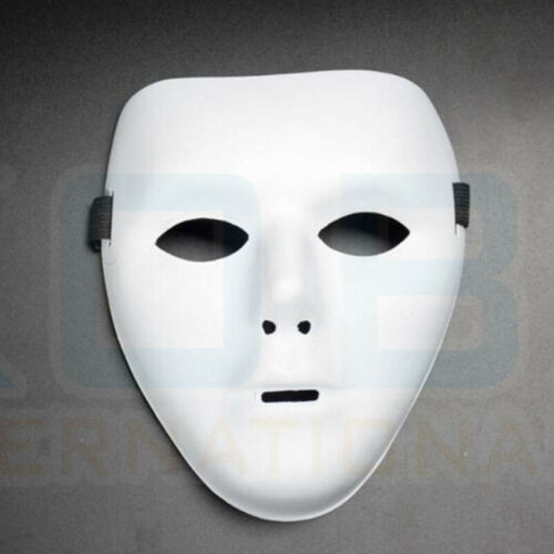DIY Full Face Mask Party Weddings Cosplay Costume Carnival party Paintable