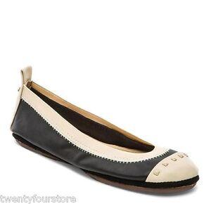 b6afadab041 NEW  85 Yosi Samra Shoes Samantha Studded Cap Toe Flats in Black ...