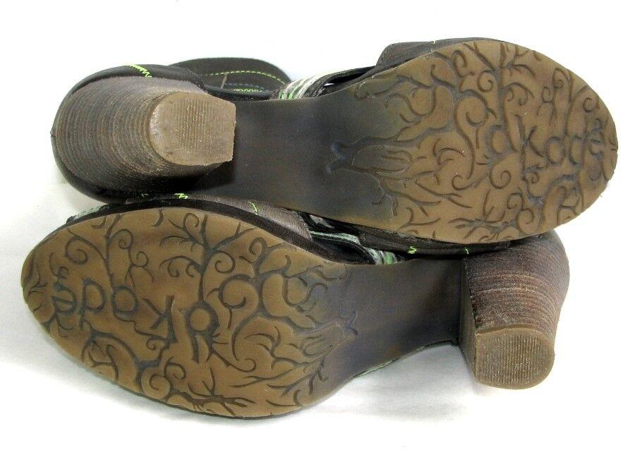 DKODE DKODE DKODE Sandals original all leather grey khaki 36 MINT 5b3fe7