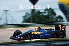 Andrea De Cesaris Rial ARC-01 Brazilian Grand Prix 1988 Photograph