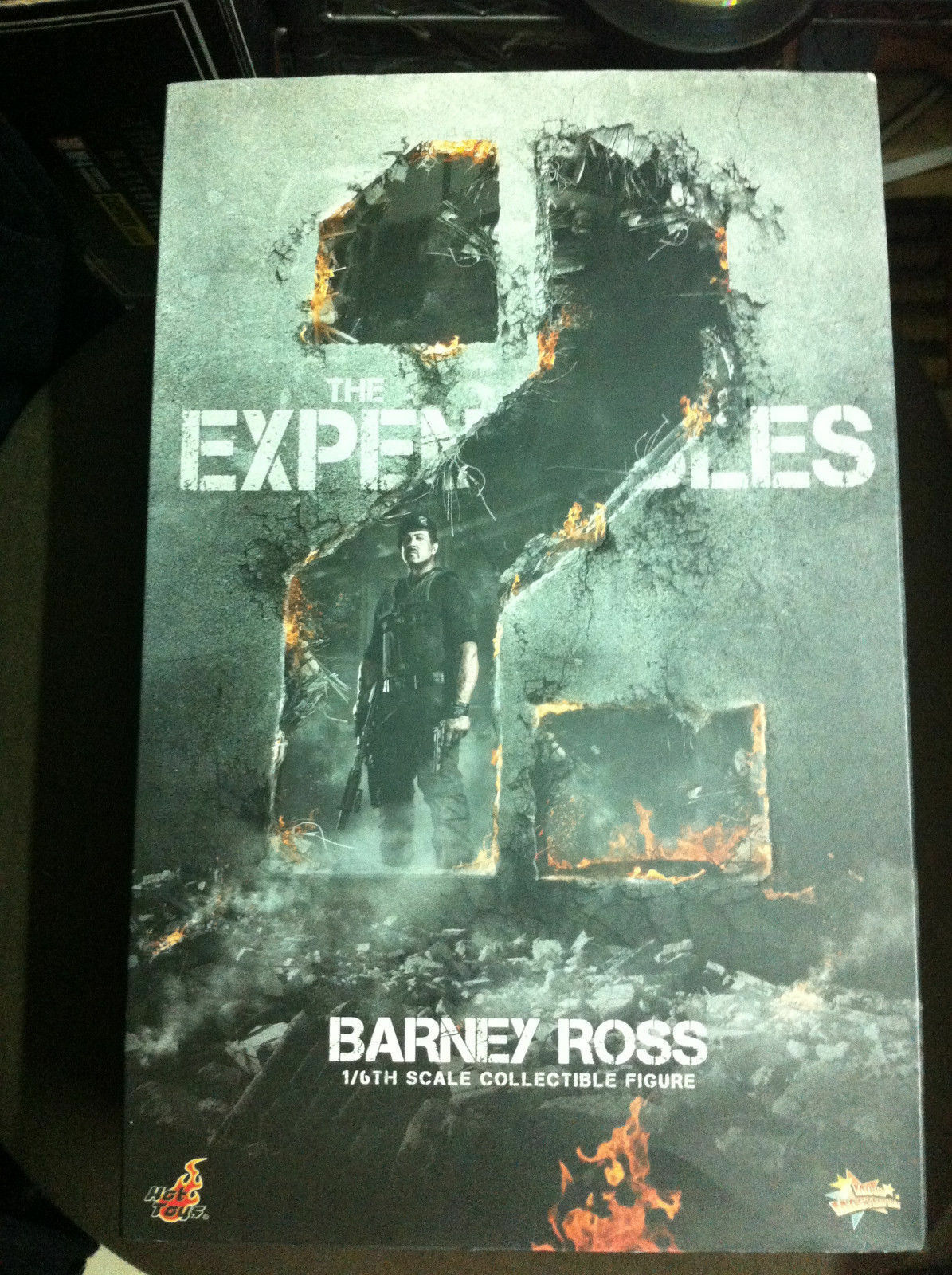 Hot Toys hottoys Expendables Barney Ross 1 6 Action Figure MMS194 Empty Box