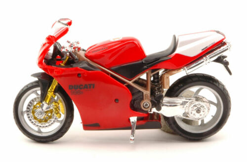 Ducati 998R Red Moto 1:18 Model BBURAGO