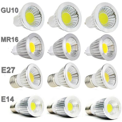 4pcs E27 MR16 LED 9W 12W 15W COB Lampe Strahler Spot Reflektor Leuchtmittel A+
