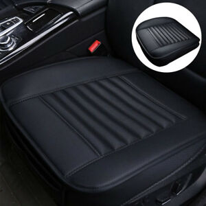 For-Car-Front-Seat-Black-Cover-Breathable-Leather-Cushion-Chair-Mat-Pad-Protect