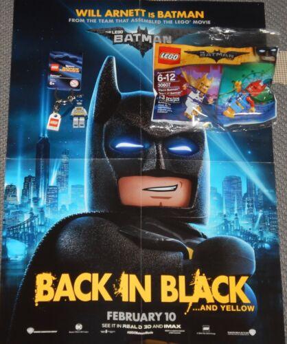 Lego Disco Tears of Batman Movie Lot Minifigure Poster Keychain 30607 Set 853429