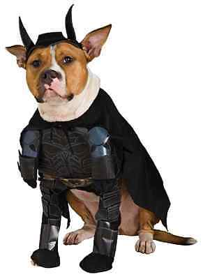Batman Dark Knight Superhero Black Fancy Dress Up Halloween Pet Dog Cat Costume