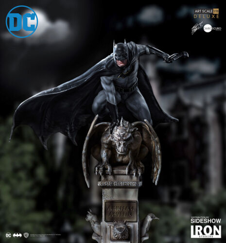 Batman Deluxe Statue Art Scale 1:10 by Eddy Barrows Iron Studios Sideshow