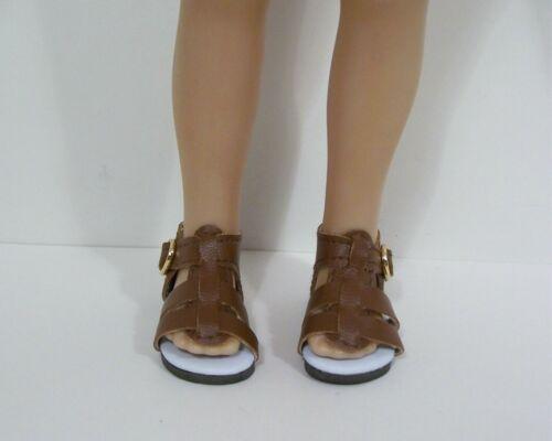 GREEN Strappy Sandal CF Doll Shoes For Dianna Effner Little Darling Debs