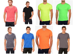 Bella-Canvas-Premium-Fit-Crew-T-Shirt-Poly-Cotton-Basic-Plain-Fitted-Tee-3650