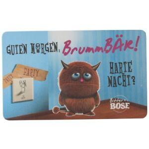 Details About Ppd Frühstücksbrettchen Guten Morgen Brummbär Harte Nacht