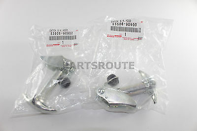 Toyota Land Cruiser FJ40 BJ40 OEM Hood To Fender Hooks Latch Catch Set 1969-86