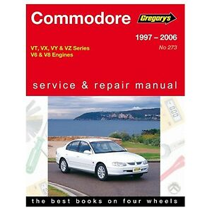 gregory s car manual for holden commodore 1997 2006 273 rh ebay com au Howard University Dodge of Kingsport TN
