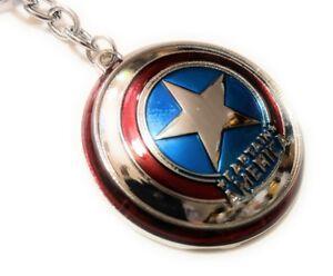 Marvel-Comics-Captain-America-Shield-The-Avengers-Movie-metal-Key-chain-cosplay