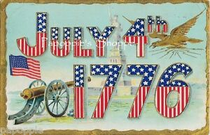Vintage-4th-of-July-Fabric-Block-Postcard-Image-on-Fabric-1776-Uncle-Sam