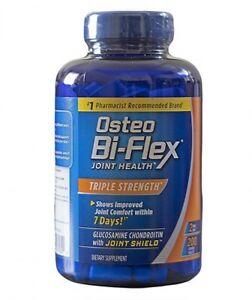 New-Sealed-Osteo-Bi-Flex-Triple-Strength-200-Caplets-Glucosamine-Chondroitin-MSM