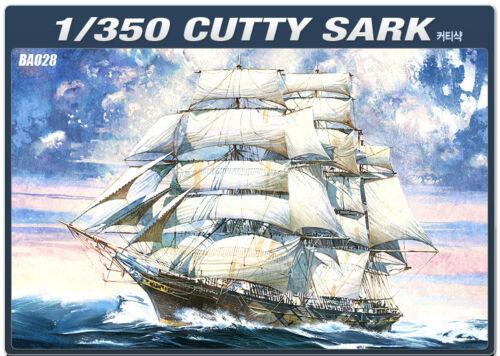 1/350 Clipper Ship Cutty Sark #14110 Academy Hobby Model Kits