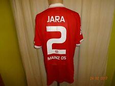 "FSV Mainz 05 Nike Spieler/Matchworn Trikot 14/15 ""entega"" + Nr.2 Jara Gr.XL TOP"