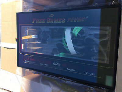Bally Alpha Touch Screen For CURVE Monitor Free Games Fever Slot Machine