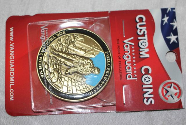 I Will Fear No Evil 23rd Psalm Challenge Coin