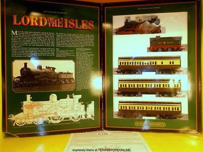 H140 Hornby Oo R795 Lord Of The Isles Train Pack Complete Nr Xclnt Boxed I Cataloghi Saranno Inviati Su Richiesta