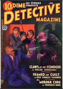 Dime-Detective-Magazine-65-Issue-Collection-Stories-Pre-Noir-Time