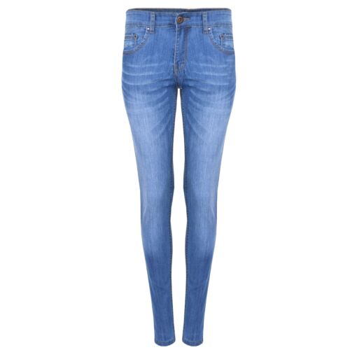 LADIES JEANS SKINNY STRETCH SMART DENIM JEANS SPANDEX SIZES 8 TO 16 UK