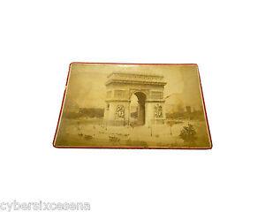 PARIS parigi ARC de TRIOMPHE photo albuminé albumen foto ca.1889 - Italia - PARIS parigi ARC de TRIOMPHE photo albuminé albumen foto ca.1889 - Italia