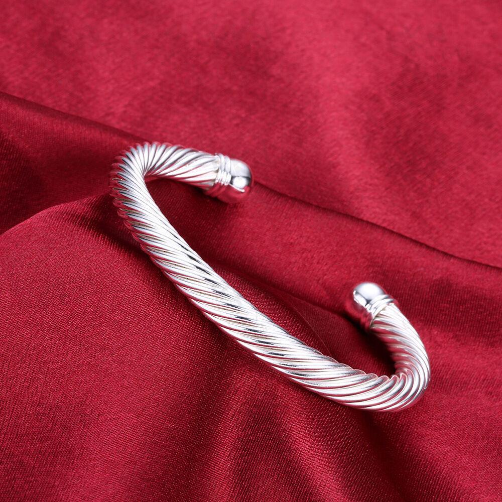eBay Silver Cable Bracelet
