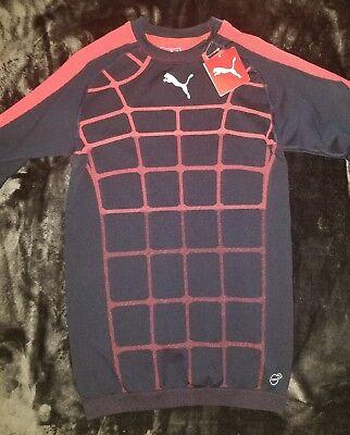 Puma Men/'s IT Evotrg Actv Technical Compression Training Tee Shirt Lava Blast