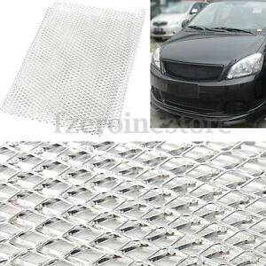 40x13-039-039-Sliver-Aluminum-Car-Vehicle-Universal-Body-Grille-Mesh-Section-Grill