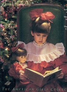 1992-RETIRED-PLEASANT-COMPANY-CATALOG-SAMANTHA-CHRISTMAS-COVER-OUR-NEW-BABY