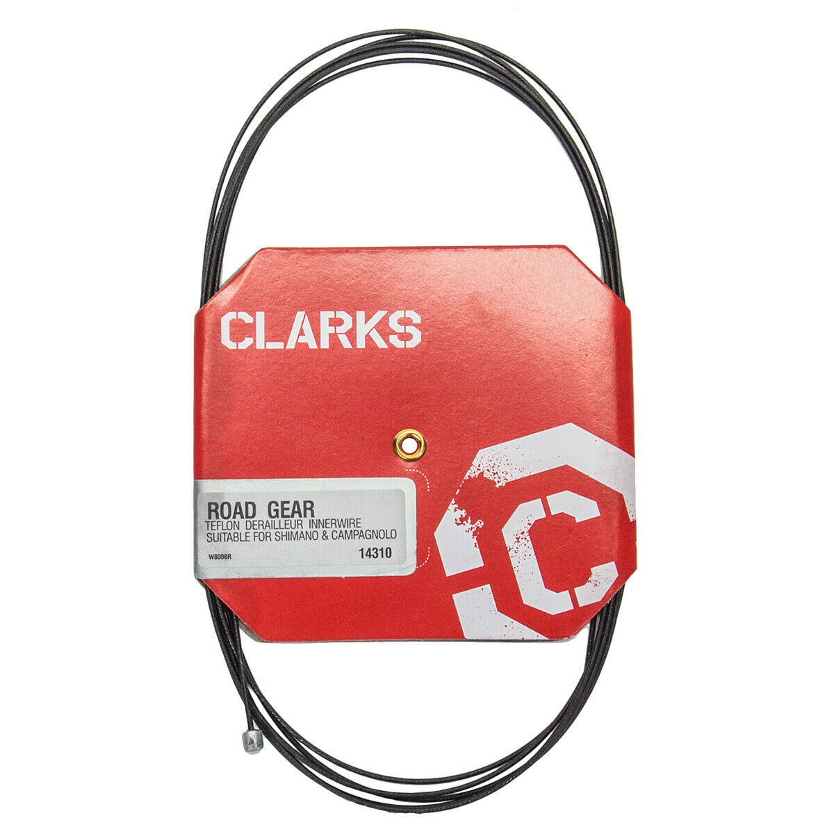 Clarks Bicycle Shifter Cable//Wire Pre-Lubed 1.1 x 3060mm