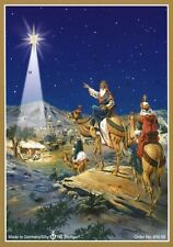 Richard Sellmer Verlag - Traditional German Paper Advent Calendar Three Wisemen