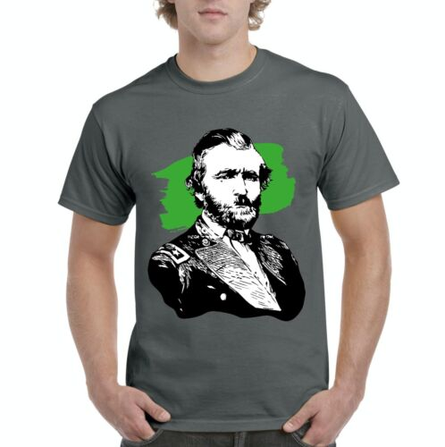 Grant American President  Men Shirts T-Shirt Tee Ulysses S