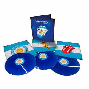 Rolling-Stones-Bridges-to-Buenos-Aires-Transculent-Blue-3-Vinyl-LP-Set-NEU-NEW