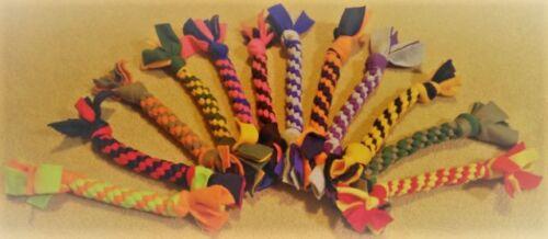 Handmade Fleece Dog Tug Toys