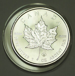 2014-Canada-5-Five-Dollars-9999-Maple-Leaf-Silver-BU-Queen-Elizabeth-II-Coin