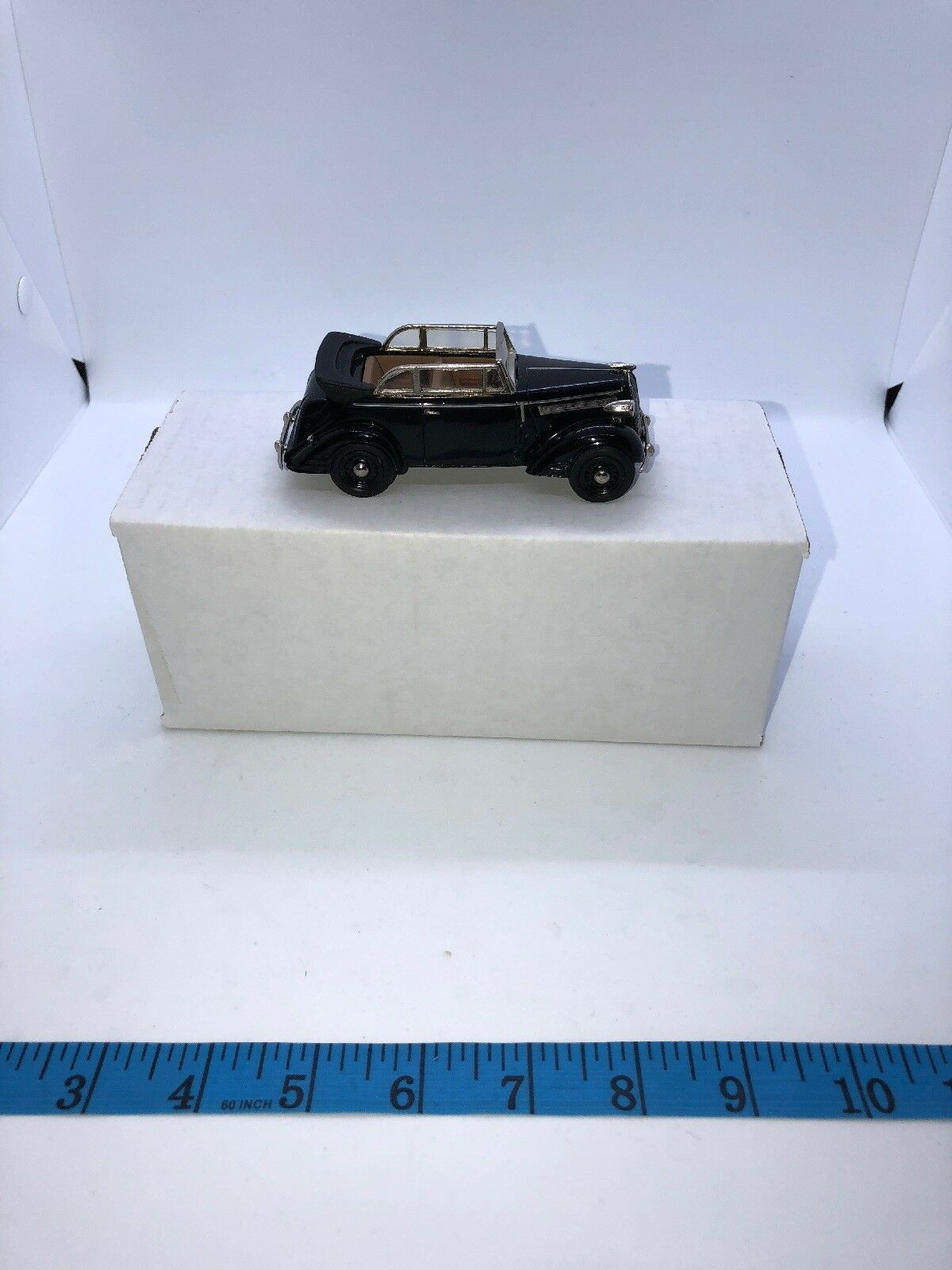 Tin Wizard 1 43 Opel Super 6 Cabriolet 1938 Handmade West Germany 9195 Metal