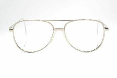 Caritatevole Vintage Stoeffler 7226-2 55 [] 20 165 Argento Ovale Occhiali Eyeglasses Nos- Qualità Eccellente