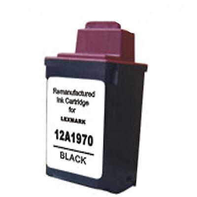 Lexmark 70 Black Printer Ink Cartridge 012A1970