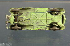 "VINTAGE BRITIANS LILLIPUT MODEL No.LV 602 SALOON CAR LIGHT GREEN VERSION ""RARE """