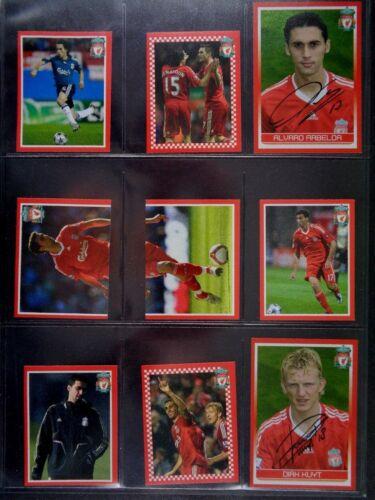 1-99 PANINI LIVERPOOL FC 2008-2009 *PLEASE SELECT STICKERS*