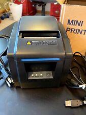 Losrecal Thermal Receipt Printer 3 Inches 80mm Desktop Pos Bill Machine With Usb