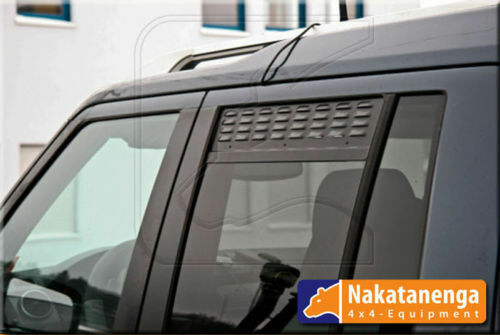 for Land Rover Discovery with mesh-Pair Window AIR VENT rear door