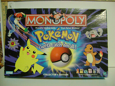 LOT of MONOPOLY GAME - POKEMON Gotta Catch 'em All PARTS